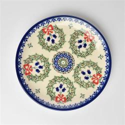 波蘭陶 幸福鈴響系列 圓形餐盤 19cm 波蘭手工製