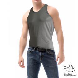 【Paloma】彩色網眼運動背心-灰 內衣 男內衣 背心