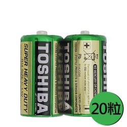 東芝 新環保碳鋅電池2號24入