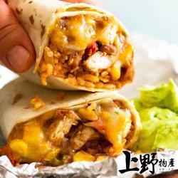 【上野物產】道地墨西哥風情捲餅皮 totilla taco burrito (350g±10%/10片/包)x3包