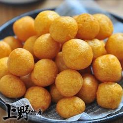 【上野物產】獨門! 外脆內軟 酥炸芋泥地瓜球(300g/包) x10包
