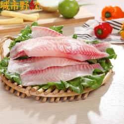 【城市野炊】嚴選新鮮台灣鯛魚片 - 40片