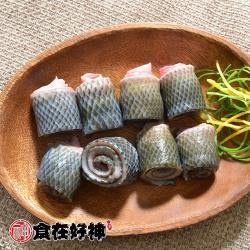 【食在好神】鮮嫩虱目魚皮(300G/包) x6包