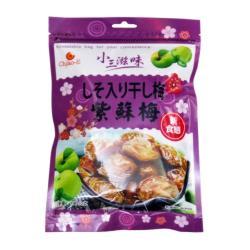【巧益】小三滋味-紫蘇梅 190g/包