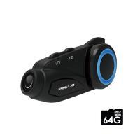 【Philo 飛樂】M3獵鯊 1080P藍芽對講WiFi行車記錄器(限量送 32G記憶卡+指針式胎壓錶)