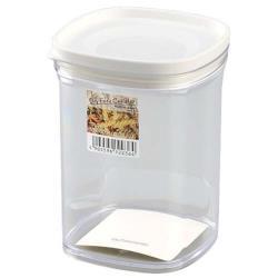日本製 INOMATA 食物密封保存罐520ml 白