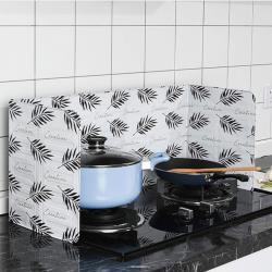2入組-廚房抗油汙鋁箔檔板 防油隔熱檔板 廚房擋油板
