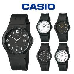 CASIO 卡西歐 MW-59 極簡時尚經典指針日期中性錶