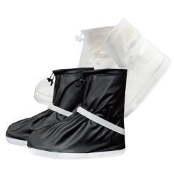 全方位防水短筒PVC鞋套 收納便利