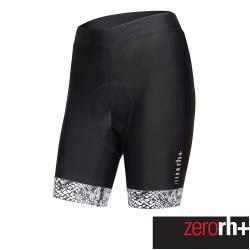 ZeroRH+ 義大利 ELITE 精英系列女仕專業自行車褲-20公分 (黑/白) ECD0737_81P