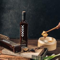 OLINA【信豐農場】匠香有機手工紅藜黑豆醬油組合(醬油+醬油膏)