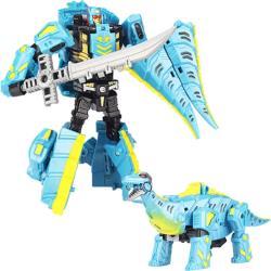 恐龍變形機器人模型玩具恐龍玩具劍龍款/腕龍款46-005E 46-005C【卡通小物】