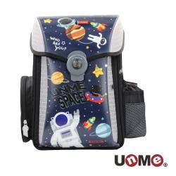 【UnMe】 夢想家U型護脊減壓磁扣書包-奇幻外太空