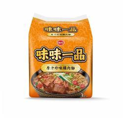 味丹 味味一品-珍味爌肉袋麵(3入/袋)