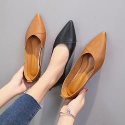 【Alice 】 (預購) 名媛優雅率性魅力尖頭平底鞋