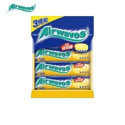 【Airwaves】超涼薄荷糖蜂蜜檸檬口味(10粒3條裝)
