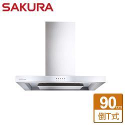 【SAKURA櫻花】歐化除油煙機-環吸系列-R7722SXL