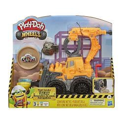 【 Play-Doh 培樂多黏土 】 車輪系列 挖土工程機