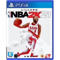 PS4 NBA 2K21–中英文合版