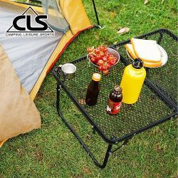 韓國CLS 超堅固 折疊收納露營耐熱網桌/洞洞桌/折疊桌/烤肉桌