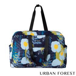 URBAN FOREST都市之森 樹-摺疊旅行包/旅行袋 綠絨蒿
