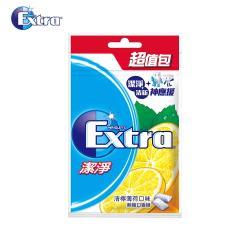 【Extra】清檸薄荷潔淨無糖口香糖(44粒超值包)