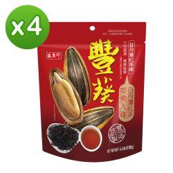 【盛香珍】豐葵香瓜子(日月潭紅茶風味)188gX4包入