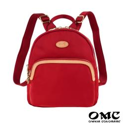 【OMC】休旅嬌點輕盈後背包-紅色
