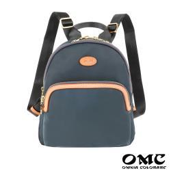【OMC】休旅嬌點輕盈後背包-灰色