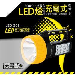 KINYO LED多功能探照燈LED-306