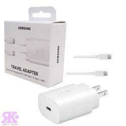 Samsung 原廠25W快充組(旅充頭+Type C傳輸線) EP-TA800