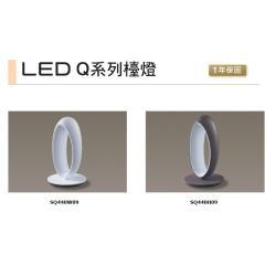 好商量~ Panasonic 國際牌 Q系列 檯燈 7W LED 檯燈 保固一年 ( SQ-440H09 / SQ-440W09 )