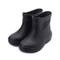 ARRIBA 輕量短筒雨鞋 黑 AYR-0001 男鞋