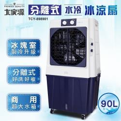 大家源 90L冰涼水冷扇風扇(可分離式水箱設計)TCY-898901