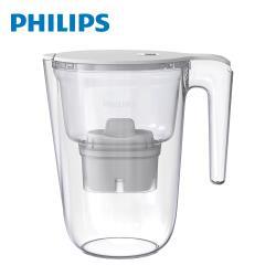 【Philips 飛利浦】 長效超濾帶計時器3.4L濾水壺-AWP2941 (內含1芯)