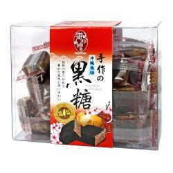 【稑珍】御珍嚐 沖繩角切黑糖 桂圓紅棗(200g)