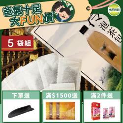 喝茶閒閒 經典甘韻熟香高山冷泡茶包 共5袋/每袋約50入