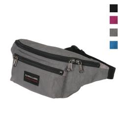 【YESON 永生】 多夾層休閒腰包/霹靂包腰袋/貼身腰包_黑/藍/桃紅