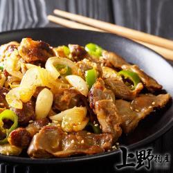 (烤肉任選899出貨)【上野物產】烤肉用 滷香煙薰雞胗(90g土10%/3串/包) x1包
