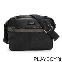 PLAYBOY- 雙層式收納包 Heroic系列-黑色