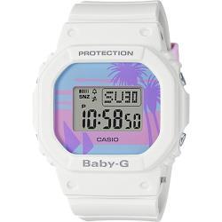 CASIO 卡西歐 Baby-G 80年代西岸海灘風電子錶(BGD-560BC-7)