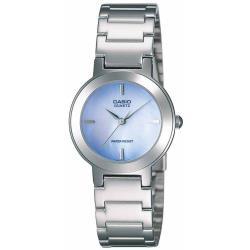 CASIO卡西歐 珍珠母貝紫羅蘭淑女手錶(LTP-1191A-2C)