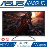 【ASUS華碩】 VA32UQ 32型VA面板4K解析度FREESYNC電競螢幕