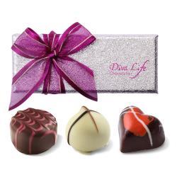 Diva Life 比利時巧克力3入 (經典禮盒)