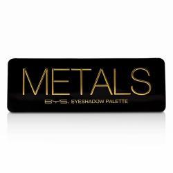 BYS 眼影盤Eyeshadow Palette (12色眼影 + 刷具x2) - Metals 12g/0.42oz