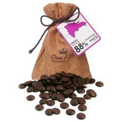 Diva Life 馬達加斯加90%黑巧克力鈕扣