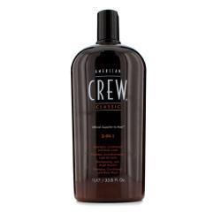 美國隊員 男士3合1洗髮護髮沐浴露Men Classic 3-IN-1 Shampoo, Conditioner  Body Wash