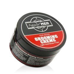 艾卡迪堅果油 男士沈香木髮蠟(自然定型/光澤效果) Agadir Men Oud Wood Grooming Crème 85g/3oz