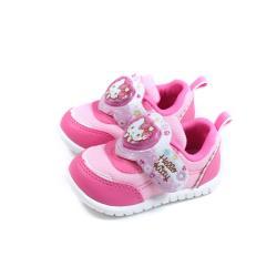 Hello Kitty 凱蒂貓 休閒運動鞋 電燈鞋 魔鬼氈 粉紅色 小童 童鞋 720939 no823
