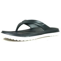 【Dogyball】 輕量化防水材質 漂浮人字夾腳拖鞋 黑色